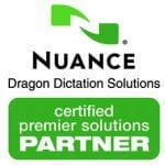 VoicePower Ltd are a Nuance Premier Partner - Dragon speech recognition