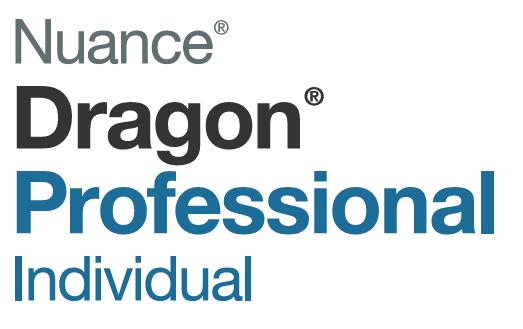 Dragon Professional Individual speech recognition logo VoicePower Ltd